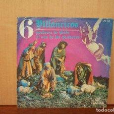Discos de vinilo: VILLANCICOS - CORO Y RONDALLA ALEGRIA - SINGLE. Lote 155661234