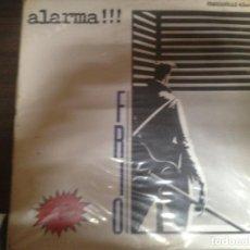 Discos de vinilo: MAXI SINGLE DISCO VINILO ALARMA FRIO. Lote 155665870
