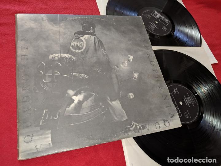 THE WHO QUADROPHENIA 2LP 1973 TRACK EDICION ALEMANA GERMANY + LIBRETO INTERIOR (Música - Discos - LP Vinilo - Pop - Rock Extranjero de los 50 y 60)