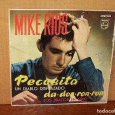 Discos de vinilo: MIKE RIOS - PECASITA - Y 3 CANCIONES MAS EN ESTE EP. Lote 155677030