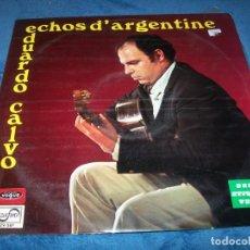Discos de vinilo: EDUARDO CALVO - ECHOS D´ARGENTINE - LP DE ZAFIRO DE 1970 - MUY RARO . Lote 155677558