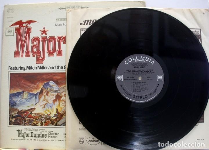 Discos de vinilo: Mayor Dundee. BSO de Daniele Amfitheatrof. Dir. Sam Peckimpah - Foto 3 - 155685666