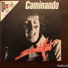 Discos de vinilo: EDUARDO MARTÍ ?– CAMINANDO SELLO: COLUMBIA ?– MO 1984 FORMATO: VINYL, 7 , 45 RPM, PROMO PAÍS: SPAIN. Lote 155691694