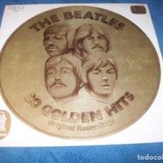 Discos de vinilo: THE BEATLES - 20 GOLDEN HITS - ORIGINAL RECORDING - TRENT - STEREO - ODEON - HOLLAND , MUY RARO . Lote 155692206