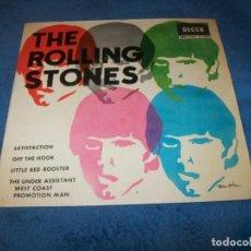 Discos de vinilo: THE ROLLING STONES - SATISFACTION - EDICIÓN DE 1965 DE ESPAÑA - DECCA - 1965 - BUEN ESTADO. Lote 155692658