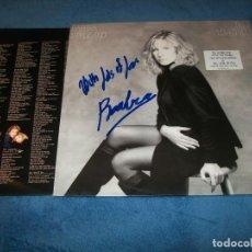 Discos de vinilo: BARBRA STREISAND - TILL I LOVED YOU - LP DE VINILO 1988 CON LETRAS - FIRMADO POR LA CANTANTE . Lote 155693270