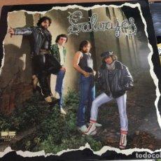 Discos de vinilo: LOS SALVAJES ( NACIDO PARA SER SALVAJE) LP ESPAÑA 1981 (VIN-G1). Lote 155693450