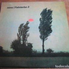 Discos de vinilo: FALSTERBO 3 - SONS ******** RARO LP 1984 PORTADA SIMPLE. Lote 155693834