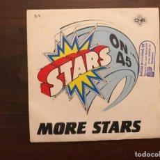 Discos de vinilo: STARS ON 45 ?– MORE STARS SELLO: CNR ?– 61 98 476 FORMATO: VINYL, 7 , SINGLE, 45 RPM PAÍS: SPAIN . Lote 155693970
