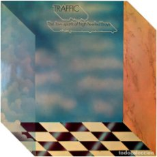 Discos de vinilo: TRAFFIC ‎– THE LOW SPARK OF HIGH HEELED BOYS - LP SPAIN 1972 - ISLAND RECORDS ‎85.807-I . Lote 155696538