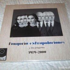 Discos de vinilo: FANGORIA - EXTRAPOLACIONES Y DOS PREGUNTAS 1989-2000 - LIMITADA 2 LP´S + CD - NUEVO 2019. Lote 155700058