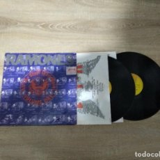 Discos de vinilo: RAMONES / ALL THE STUFF (AND MORE )LP DOBLE 33 RPM / SIRE. Lote 155700754