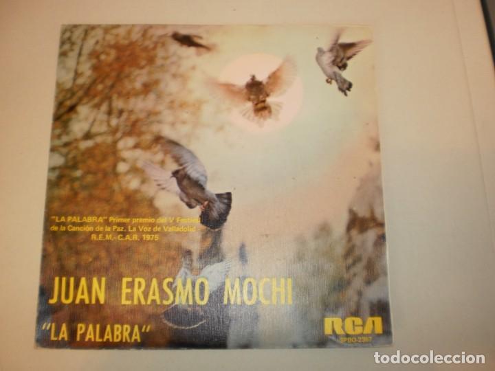 SINGLE JUAN ERASMO MOCHI. LA PALABRA. DESPIERTA. RCA SPAIN 1975 (PROBADO Y BIEN, SEMINUEVO) (Música - Discos - Singles Vinilo - Solistas Españoles de los 70 a la actualidad)