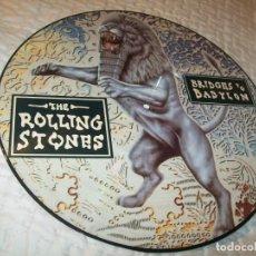 Discos de vinilo: THE ROLLING STONES - BRIDGES TO BABILON ...LP - PICTURE DISC - LIMITADO COPIA PROMOCIONAL 1997 . Lote 155703906