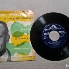 Discos de vinilo: MUSICA SINGLE: FRANCK POURCEL ET SON GRAND ORCHESTRE - PARIS BOHEME / ÇA VA FAIRE DU BRUTT+2 (ABLN). Lote 155706782