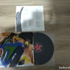 Discos de vinilo: HERTZAINAK / MUNDU BERRIA DARAMAGU BIHITXEAN / LP PORTADA D./ AKETO KOMITE INTERNAZIONALISTAK . Lote 155707514
