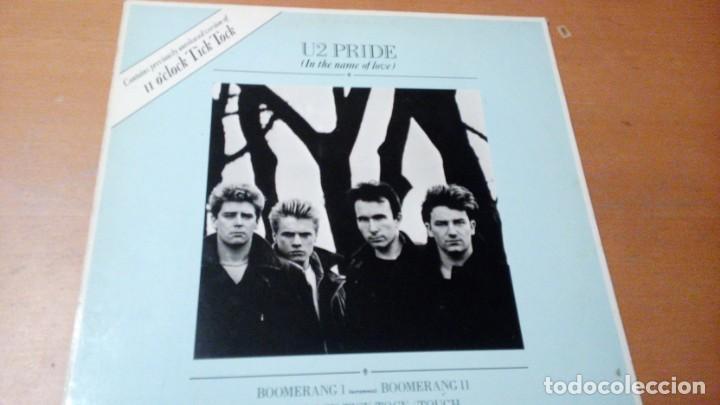 U2 PRIDE (IN THE NAME OF LOVE) MAXI VINILO SPAIN 1984 (Música - Discos de Vinilo - Maxi Singles - Pop - Rock - New Wave Extranjero de los 80)