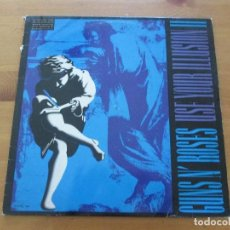 Discos de vinilo: GUNS N´ ROSES USE YOUR ILLUSION II BMG 1991 DOBLE LP CON ENCARTE LETRAS. Lote 155712078