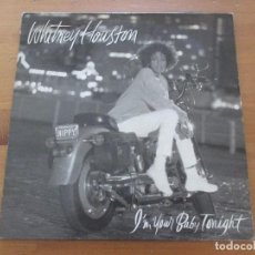 Discos de vinilo: WHITNEY HOUSTON I´M YOUR BABY TONIGHT ARISTA BMG 1990 MUY BUEN ESTADO. Lote 155713262
