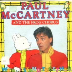 Discos de vinilo: PAUL MCCARTNEY AND THE FROG CHORUS / WE ALL STAND TOGETHER (SINGLE PROMO 1984). Lote 155718482