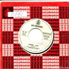 Discos de vinilo: LOS PEKENIKES / ALARMA /ARIA (SINGLE PROMO 1969). Lote 155718554