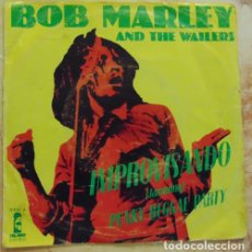 Dischi in vinile: BOB MARLEY & THE WAILERS – JAMMING / PUNKY REGGAE PARTY - SINGLE. Lote 200511123