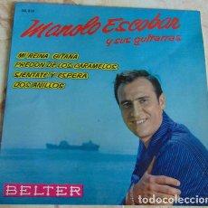 Discos de vinilo: MANOLO ESCOBAR - MI REINA GITANA + 3 - EP 1962. Lote 155724818