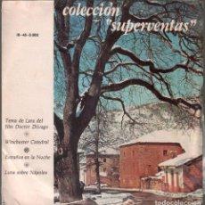 Discos de vinilo: COLECCIÓN SUPERVENTAS TEMA DE LARA DEL FILM DOCTOR ZHIVAGO EP DE 1967 RF-3735. Lote 199211078