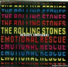 Discos de vinilo: ROLLING STONES / RESCATE EMOCIONAL / DOWN IN THE HOLE (SINGLE 1980). Lote 155730942