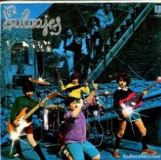 Discos de vinilo: SALVAJES / ROCKERO PREMATURO / ESTOY BIEN (SINGLE 1982). Lote 155734074