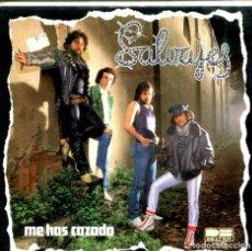 Discos de vinilo: SALVAJES / ME HAS CAZADO / TOCO LA GUITARRA, CANTO MIS CANCIONES (SINGLE 1981). Lote 155734322