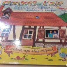 Discos de vinilo: CHANSONS EN L.AIR CLAUDE FONFREDE DOMINIQUE BECHEER FRANCIA. Lote 155736626