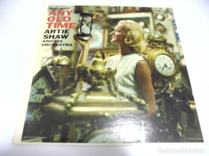 LP. DOWN BEAT AND OLD TIME. ARTIE SHAW AND HIS ORCHESTRA. 1958. RCA (Música - Discos - LP Vinilo - Otros estilos)