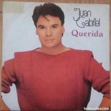 Discos de vinilo: JUAN GABRIEL - QUERIDA / EL NOA NOA II - SINGLE PROMO SPAIN 1984. Lote 155744786