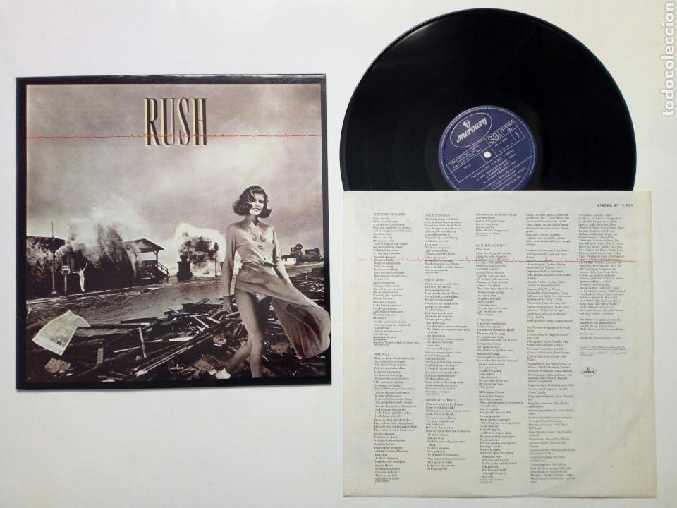 Lp - rush : permanent waves (mercury, 1980) edi - Sold
