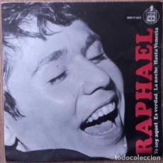 Discos de vinilo: RAPHAEL - YO SOY AQUEL - EP SPAIN 1966. Lote 155746798
