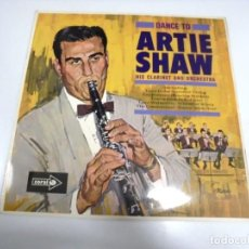Discos de vinilo: LP. DANCE TO ARTIE SHAW HIS CLARINET AND ORCHESTRA. 1964. MCA RECORDS. Lote 155746814