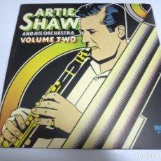Discos de vinilo: LP. DOBLE. ARTIE SHAW. AND HIS ORQCHESTRA. VOLUME TWO. RCA. Lote 155750082
