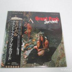 Discos de vinilo: VINILO EDICIÓN JAPONESA DEL LP DE GRAND FUNK RAILROAD - SURVIVAL. Lote 155750598