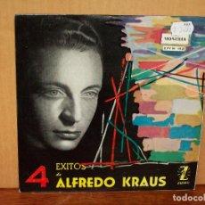 Discos de vinilo: ALFREDO KRAUS - 4 EXITOS ZARZUELAS - EP 4 CANCIONES. Lote 155751894