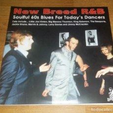 Discos de vinilo: V.A NEW BREED R&B 2 LP SOUL 60S BLUES FOR TODAY DANCERS ,SPAIN PRESS 2015 . Lote 155753854