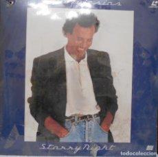 Discos de vinilo: JULIO IGLESIAS STARRY NIGHT.- LASER DISC. Lote 155756734
