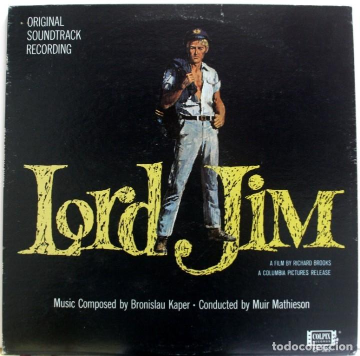 BSO LORD JIM DE BRONISLAW KAPER (Música - Discos - LP Vinilo - Bandas Sonoras y Música de Actores )