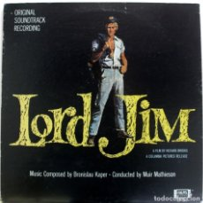 Discos de vinilo: BSO LORD JIM DE BRONISLAW KAPER. Lote 155757950