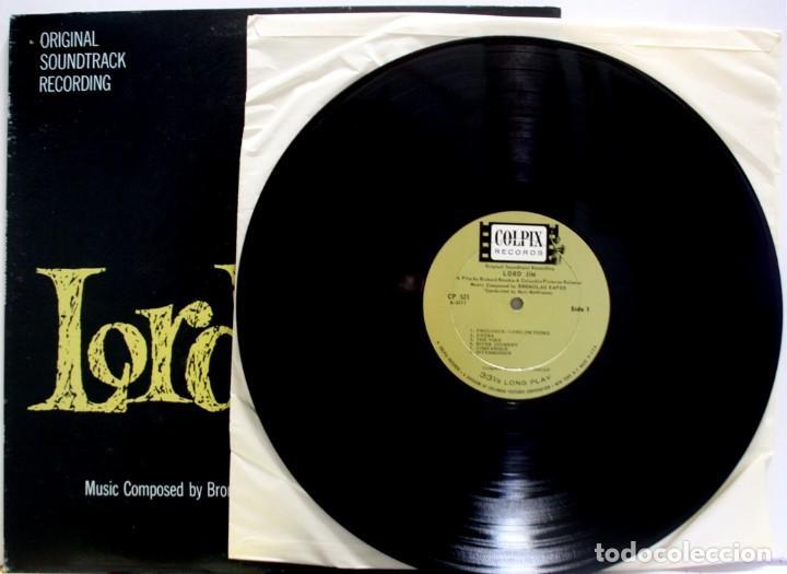 Discos de vinilo: BSO LORD JIM DE BRONISLAW KAPER - Foto 3 - 155757950