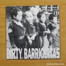 Discos de vinilo: FAME NEGRA / DIRTY BARRIGUITAS - O LADO APODRECIDO / A FUME DE CAROZO + 5 - EP. Lote 155758990