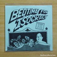 Discos de vinilo: ISOCRACY - BEDTIME FOR ISCORACY - EP. Lote 155760141