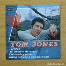 Discos de vinilo: TOM JONES - DELILAH + 3 - EP. Lote 155760741