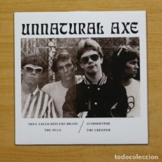 Discos de vinilo: UNNATURAL AXE - THEY SAVED HITLERS BRAIN + 3 - EP. Lote 155761420