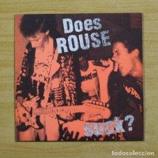 Discos de vinilo: ROUSE - DOES ROUSE - VINILO ROJO - EP. Lote 155761449